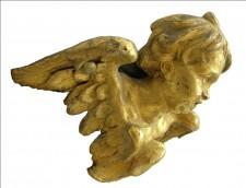 Un prezioso dettaglio del reliquiario di S. Vittorino