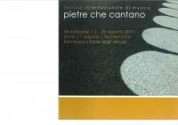 Pietre Che Cantano Cover