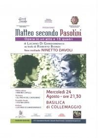 Matteo Secondo Pasolini
